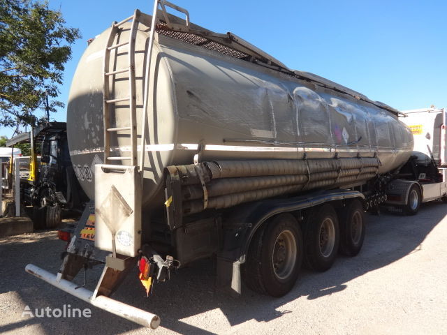 цистерна гсм TRAILOR Fuel 40000 liters accident