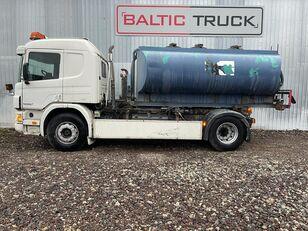 автоцистерна SCANIA P94-300, 4x2 HOOKLIFT + WATER TANK