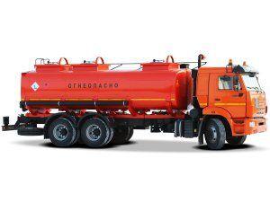 новый бензовоз КАМАЗ 651 для светлых ГСМ