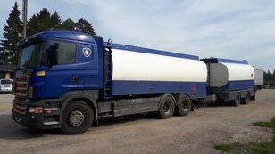 бензовоз SCANIA R420 6x2 fuel tank + цистерна гсм