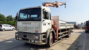 бортовой грузовик RENAULT G 230 Manager Full Spring Crane Atlas 13m. Long