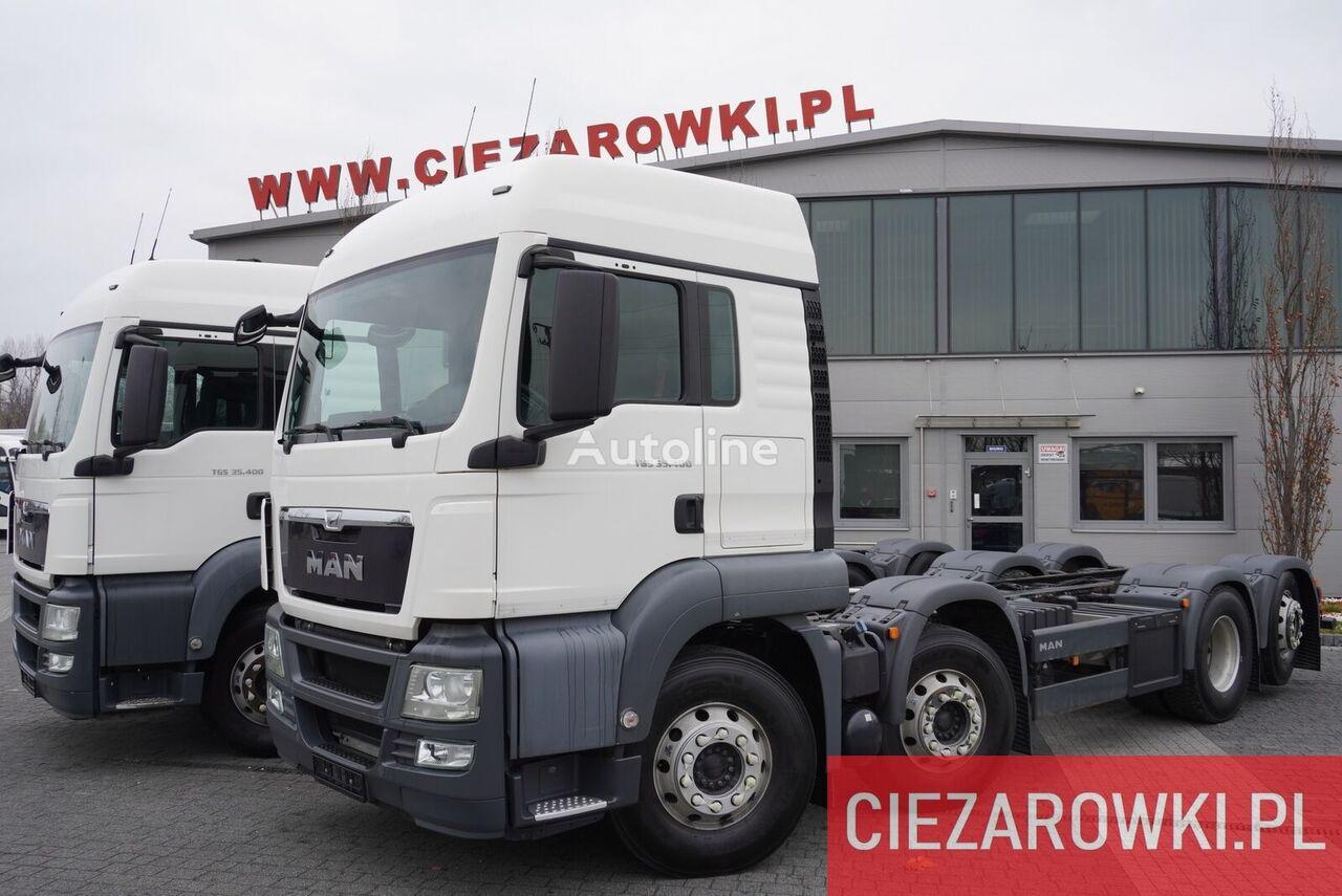 грузовик шасси MAN TGS 35.400 , 8x2 , PTO , chassis 6,7m , retarder , sleep cab
