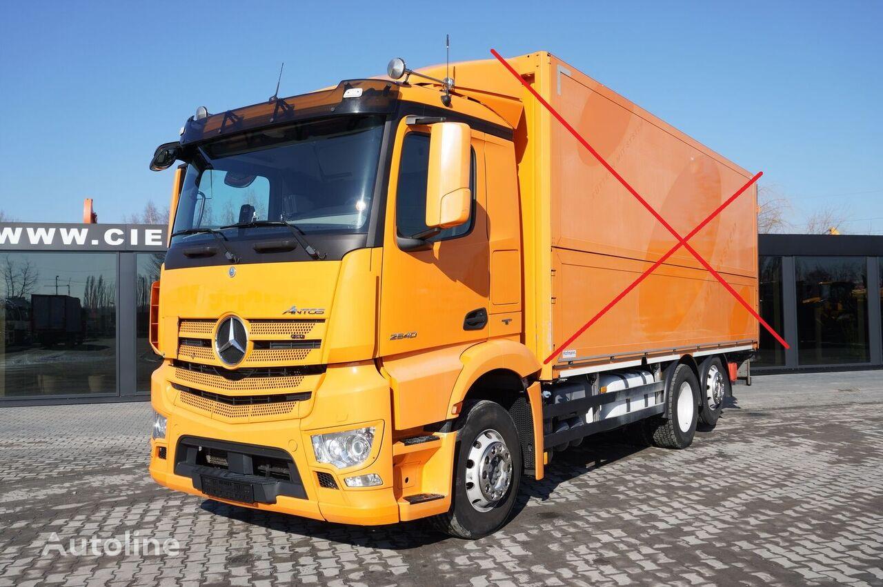 грузовик шасси MERCEDES-BENZ Antos 2540 , E6 , 6x2 , chassis 6,9m , retarder , lift axle , Cl