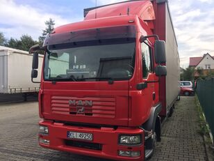 грузовик штора MAN TGL 8.240 + прицеп штора