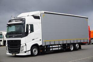 грузовик штора VOLVO / FH / 420 / ACC / EURO 6 / FIRANKA / 22 PALETY / DŁ. 9,05 M