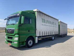 грузовик штора MAN TGX 18.440 + прицеп штора