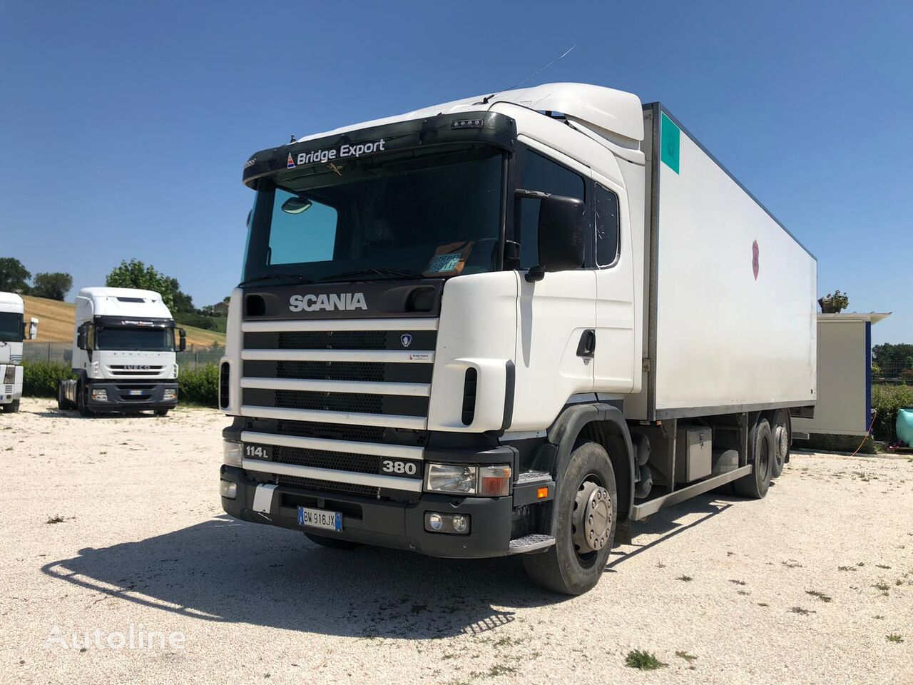 изотермический фургон SCANIA R114 380 motrice isotermica 6x2