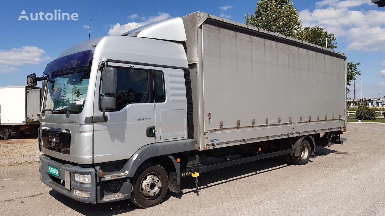 тентованный грузовик MAN 12.250 BL nemacki brif /7360/