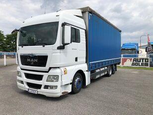 тентованный грузовик MAN TGX 24.440 flatbed
