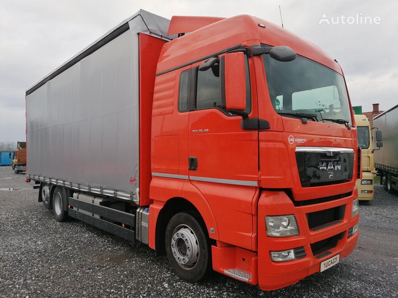 тентованный грузовик MAN TGX 26.400 EURO 5