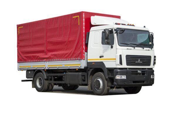 новый тентованный грузовик МАЗ 5340C3-520-000