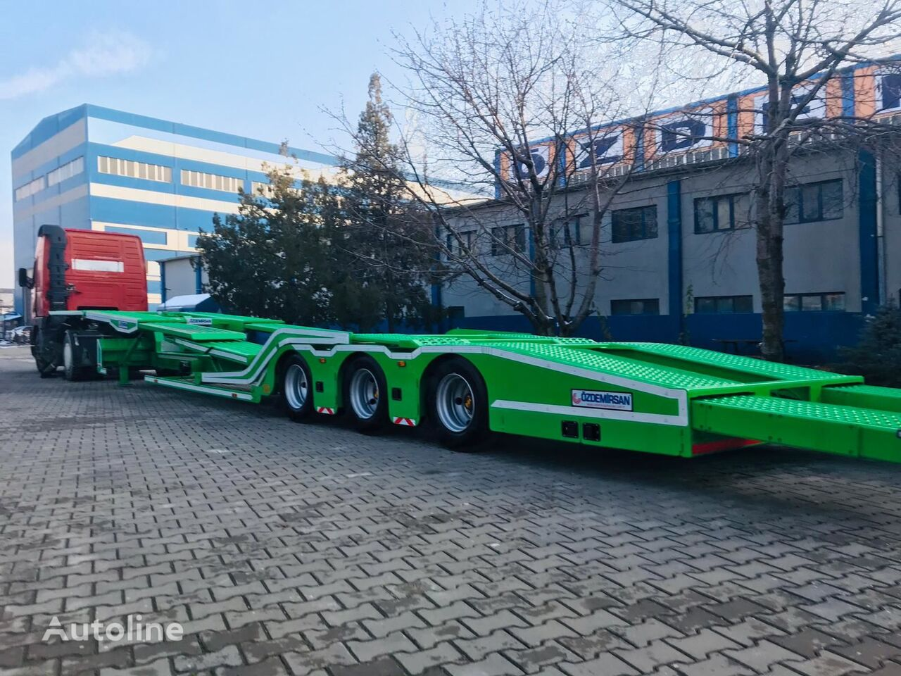 новый полуприцеп автовоз OZDEMIRSAN EXTENDABLE CAR-TRUCK TRANSPORT SEMITRAILER