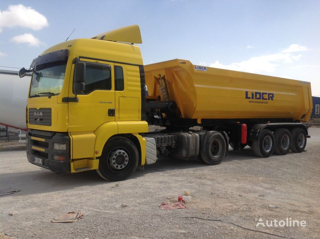 новый полуприцеп самосвал LIDER 2020 NEW DIRECTLY FROM MANUFACTURER COMPANY AVAILABLE IN STOCK