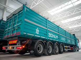 новый полуприцеп зерновоз Бортовой зерновоз BONUM