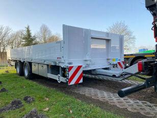 новый бортовой прицеп Wiese Tandemanhänger mit Rampen, Containertransp