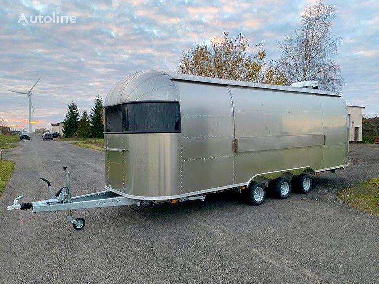 новый торговый прицеп ERZODA Airstream trailers food truck  food van  coffee trailer