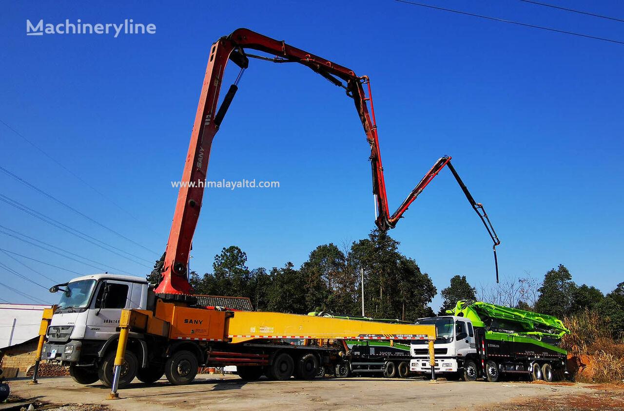 автобетононасос Sany 52m 2012 52X-6RZ на шасси MERCEDES-BENZ Actros 3341