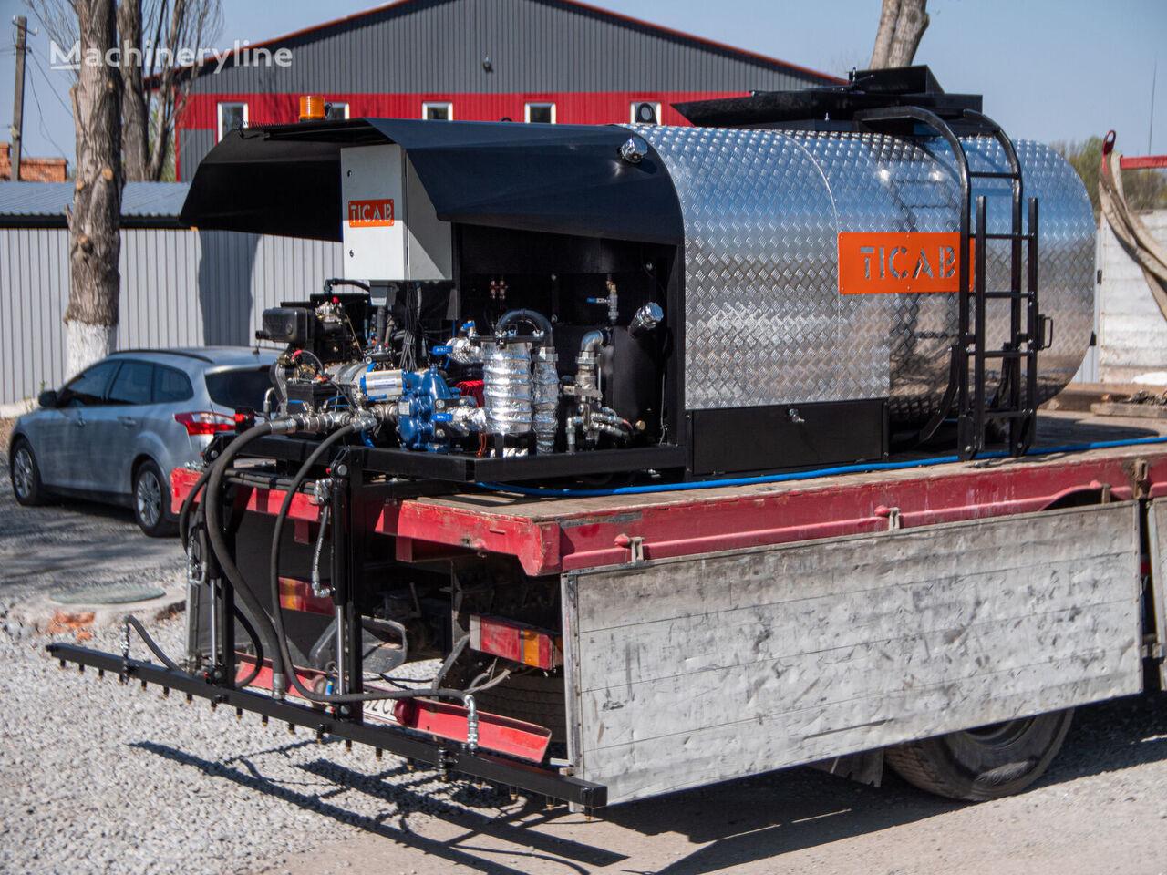 новый автогудронатор Bitumen distributor ABS-7000