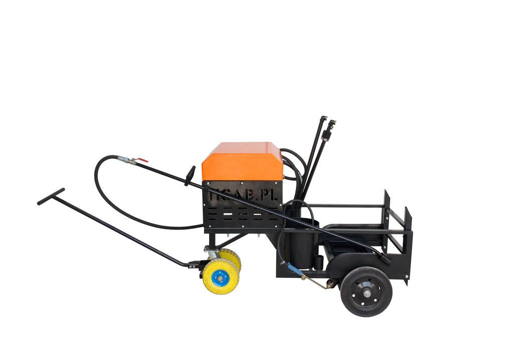 новый автогудронатор Bitumen emulsion sprayer BS-200
