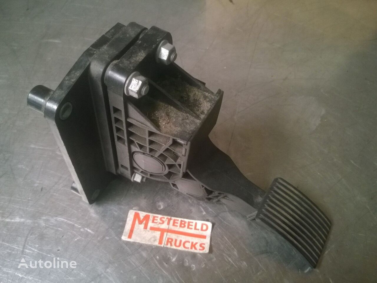 педаль акселератора MERCEDES-BENZ Electronisch gaspedaal (A 940 300 00 04) для грузовика
